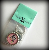 Bottle Cap Keychains