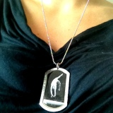 Old School Gymnastics Dog Tags